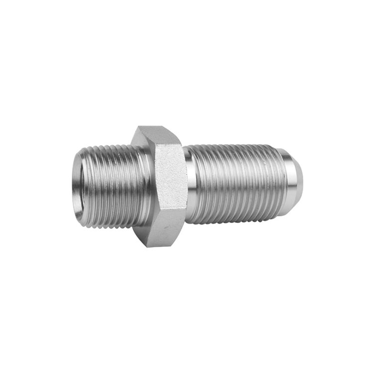 2706/2706-LN - Pipe to JIC Male Bulkhead Straight