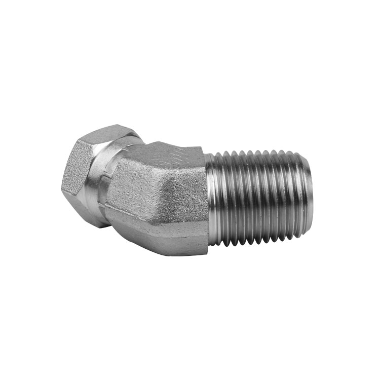 1501 - Pipe Male to Pipe Swivel Female Elbow 90°
