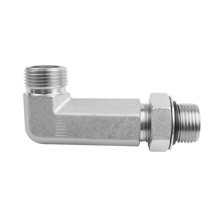 6801-L - JIC to O-Ring Boss Male Long Elbow 90°