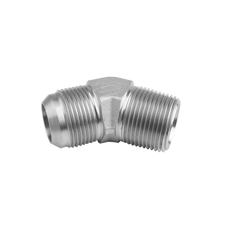 2503 - JIC to Pipe Male Elbow 45°