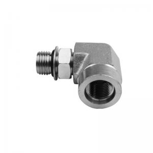 6815 - O-Ring Boss Male to Female Adjustable Street Elbow 90°